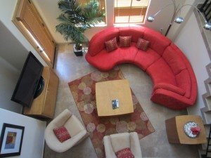 Living room of San Felipe vacation rental