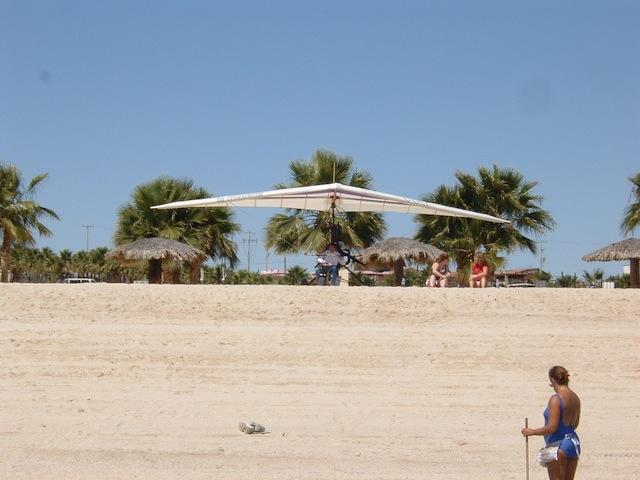 San Felipe ultralight plane